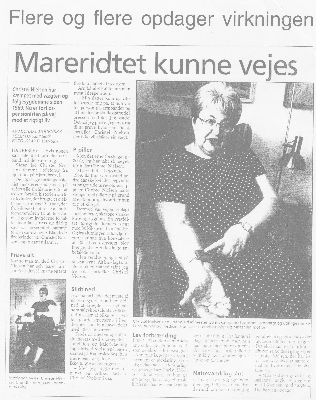 AcuOne - Reference Christel Nielsen - Haderslev - Peer Mathiesen