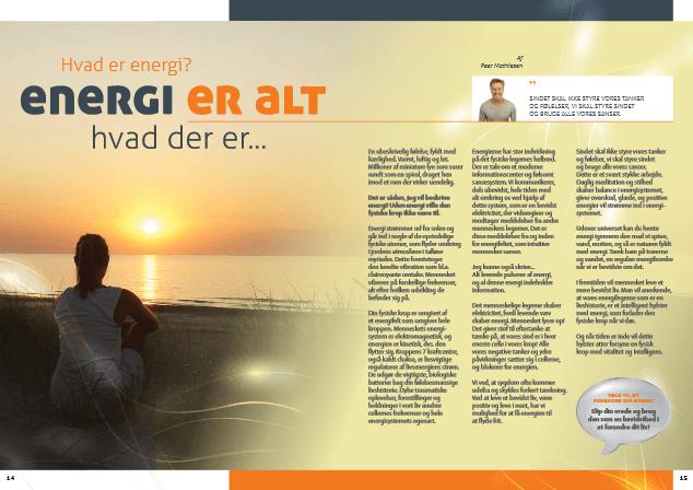 Clairvoyance - Februar 2014 - Artikel - B-E-G Magasin - Peer Mathiesen